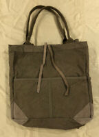 We The Free Fremont Reversible Canvas &  Leather Brown Tote Free People NWOT