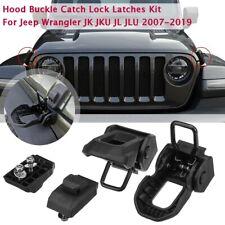 Hood Buckle Catch Lock Latches For Jeep rangler JK JKU JL JLU 2007-2019   L