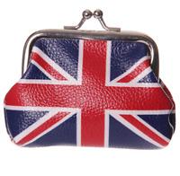 Fun Mini Coin Purse Union jack Flag Design Ladies Girls UK Themed Change Holder
