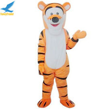 Tigger Mascot Costume Cartoon Tiger Fancy Dress Adult Size Outfit Party Prop