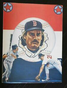 Wade Boggs Boston Red Sox  Baseball Poster 18x24 1986