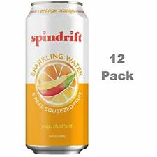 Spindrift Sparkling Juice Water, Orange Mango Flavored, Made With Real Squeezed