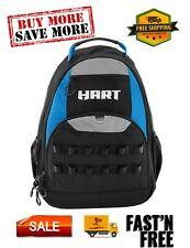 18-Pocket 22-Loop Tool Organizer Backpack, Foam-padded back & adjustable straps
