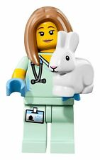 LEGO VETERINARIAN #5 Minifigure 71018 Series 17 NEW FACTORY SEALED IN HAND Bunny