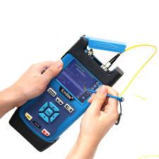 Komshine QX35 Handheld Fiber Optical OTDR Kit inl Launch Box 500M SM 1550 30db