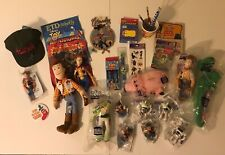 MEGA LOT VINTAGE 1995 TOY STORY REX HAMM BUZZ LIGHTYEAR BURGER KING DISNEY PIXAR