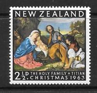 NEW ZEALAND SG817 1963 CHRISTMAS. MNH