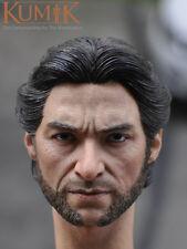 Kumik 1/6 scale Hugh Jackman Head Sculpt Wolverine X-Men Logan