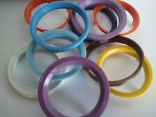 Set of 4 European Made Plastic Hub Centric Rings 60.1mm OD - 58.1mm ID FIAT