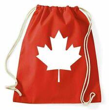 Kanada Maple Leaf Turnbeutel Ahorn Flagge Sportbeutel Jutebeutel Rucksack