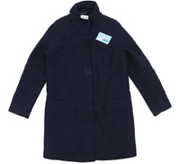 Marks & Spencer Womens Size 16 Wool Blend Blue Peacoat