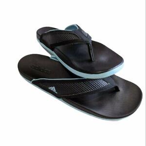 ADIDAS Men's/Women's Adilette Comfort Flip Flop Sandals Black Size 8/10