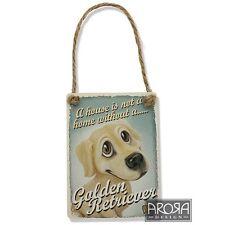 Little Paws 3605 Golden Retriever Dog Plaque