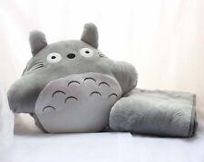 My Neighbor Totoro Camping Travels Cushion Cartoon Hand Warm and Blanket Pillow