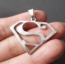 Stainless steel Men Charm pendant-Superman Charm PENDANT