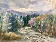 "Reduced - Listed CDN Artist Fernand Labelle 1934-2012, 'Wow' Landscape,16X 20"""