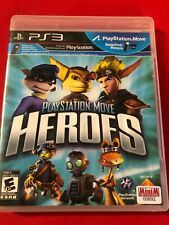PlayStation Move Heroes (Sony PlayStation 3, 2011) (No Manual) (GD)
