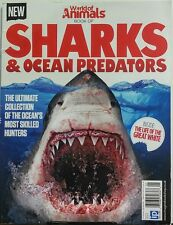 World of Animals Book of Sharks & Ocean Predators UK Issue 1 FREE SHIPPING sb