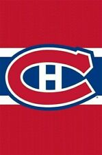 MONTREAL CANADIENS ~ CH LOGO 22x34 POSTER NHL Hockey National League