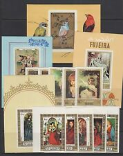 Fujeira Stamps — (2) Complete Sets + (4) Souvenir Sheets - 1970s - Mint