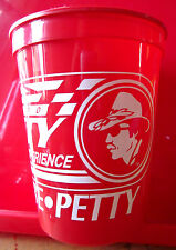RICHARD PETTY silhouette vtg cup Driving Experience logo NASCAR Disney OG racing
