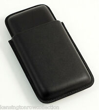 """Each holds up to 3 7/"""" cigars ND205 Lot of 2 Bic Cigar Cases"""