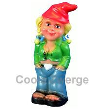 Gartenzwerg  Zwergenfrau Mandy mit Jeanshose   NEU    Frau als Zwerg  #0941  NEU