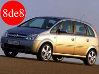 Opel Meriva (2004) - Workshop Manual on CD