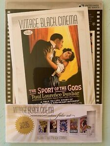 US Stamps SC# 4340a Vintage Black Cinema & Comm. Folio 42c sheet of 20 MNH 2008
