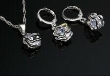 Parure bijoux argent sterling 925 2 pièces