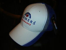 #5 Kasey Kahne Farmers Insurance Fan Up Chkrd Flag Sports Cap / Hat Adj New