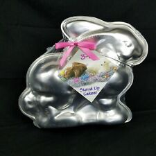Nordic Ware 3D Cake Pan Easter Bunny Rabbit Cake Mold Vintage New Sealed