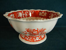 Copeland Spode Madrid Pattern Large Footed Salad / Punch Bowl