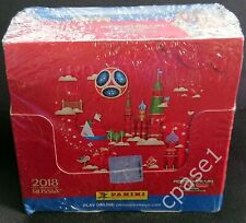 Panini FIFA World Cup 2018 Russia - Display with 50 pcs booster pack - *NEW*
