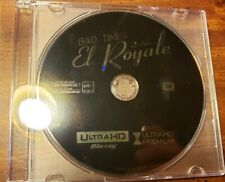 Brand New 2018 Bad Times At The El Royale 4K UHD Blu Ray Disc Only