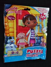 DOC MCSTUFFINS Puzzle 24 Pc Resealable Bag  Puzzle On The Go! New CC648