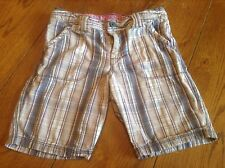 Girl's Mossimo Plaid Purple And Gray Shorts Size M