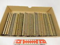 AQ5-2# 48x Märklin/Marklin H0/AC 5106 Gerades Gleisstück M-Gleis Bastler