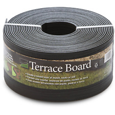 """Terrace Board Black, 5"""" x 40' with 10 Stakes"""