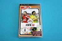Playstation Portable PSP Spiel - FIFA 12 - Komplett in OVP #