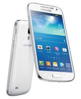 "4.3"" Samsung Galaxy S4 Mini GT-I9195 8GB GPS NFC 8MP Unlocked Smartphone White"