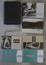 1999 Acura Integra Owner's Manual / Set w/ pouch Ls Gs Gs-R 1.8L Oem Gen three