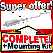 VW Volkswagen LT 28 35 - 2.5 SDI 2.8 TDI SHORT SWB Exhaust Silencer 491