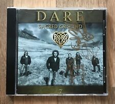 Autographed DARE cd Sacred Ground Thin Lizzy Magnum Ten