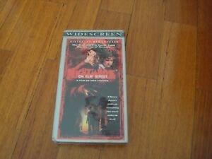 A NIGHTMARE ON ELM STREET PART 1 VHS TAPE ( WIDESCREEN  )- NTSC - NEW /SEALED