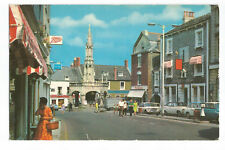 Old Postcard The Square and Cross Shepton Mallet Somerset  (A13)