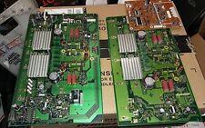 7DD50 ASSORTED CIRCUIT BOARDS FROM PIONEER PLASMA TV, 60 CAPACITORS, ET AL