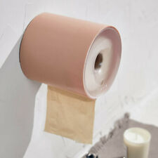DI- Home Bathroom Waterproof Punch-free Tissue Box Toilet Roll Paper Holder Stor