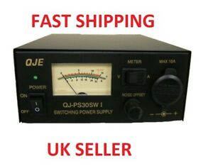 QJE PS30SWI 30 AMP PEAK SWITCH MODE POWER SUPPLY PSU CB HAM RADIO