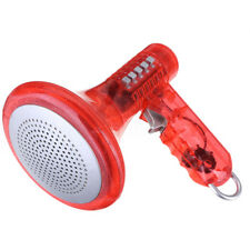 Red Voice Changer Loud LED Superbright Children Kids Toy 10 Sound Effects Gift